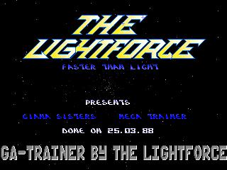LightForce – Great Giana Sisters
