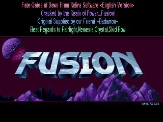 Fusion – Fate Gates of Dawn
