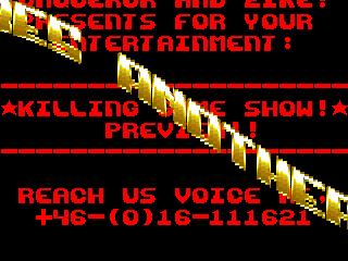 Conqueror & Zike – Killing Game Show