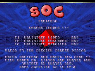 S.O.C – Cannon Fodder