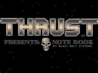 Thrust – Note Book