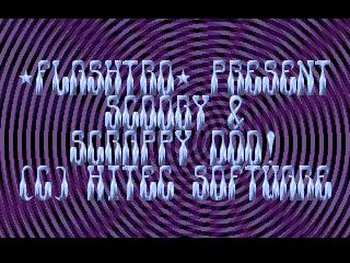 Flashtro – Scrappy & Scooby