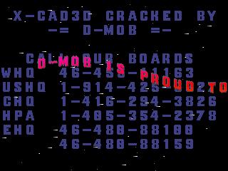 D-Mob – XCAD 3D