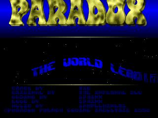 Paradox – Magician
