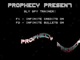 Prophecy – Sly Spy