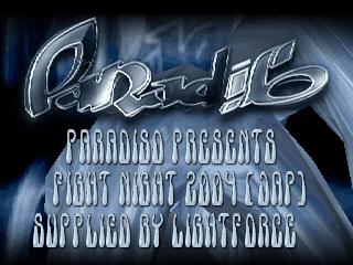 Paradiso – Fight Night