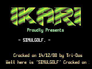 Ikari – Simulgolf