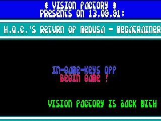 Vision Factory – Rings of Medusa 2