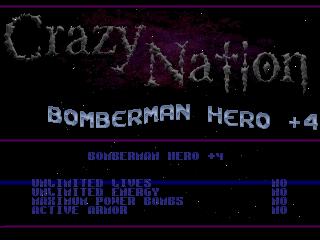 Crazy Nation – BomberMan