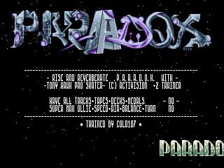 Paradox – South Park Rally