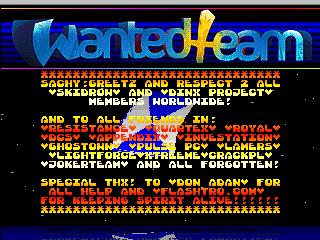 WAnted Team – Speedway Maanger
