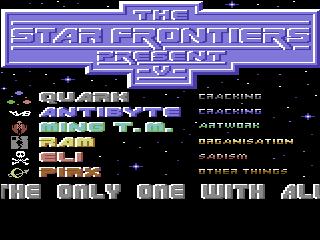 The Star Frontiers – Uridium