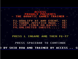 Access – Aquatic Games