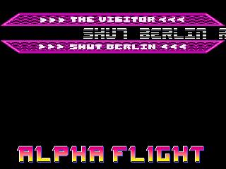 Alpha Flight – new Stuff