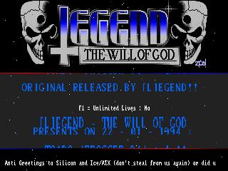 Legend – Frogger 94