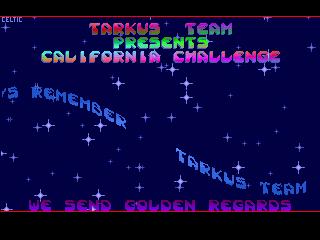 Tarkus Team – California Chalenge