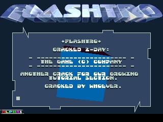 Flashtro – Cracktro