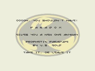 Paradox – Prophetic Paradude