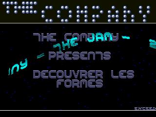 The Company – Decouvrer Les Formes