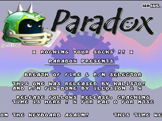 Paradox – Breath of Fire 4