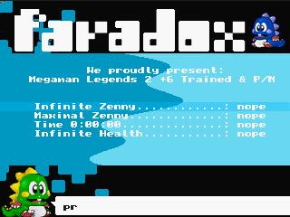 Paradox – MegaMan Legends 2
