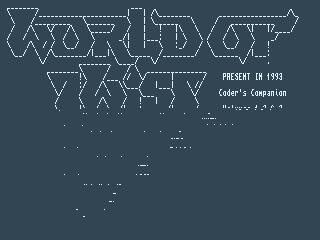 World of Twist – Coders Companion