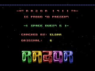 Razor 1911 – Space Quest 5
