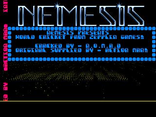 Nemesis – World Cricket