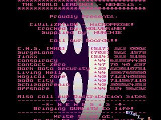 Nemesis – Civilization