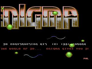 Enigma – 3d Construction Kit