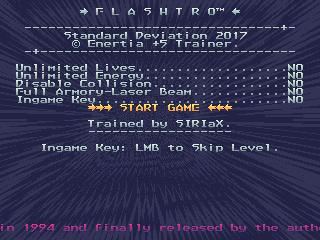 Flashtro – Standard Deviation