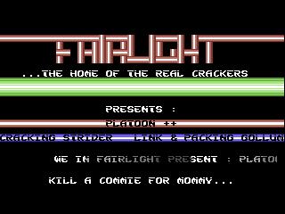 Fairlight – Platoon
