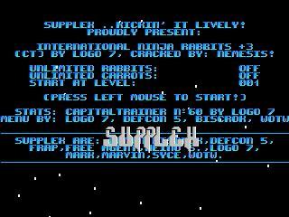 Supplex – INTL Ninja Rabbits