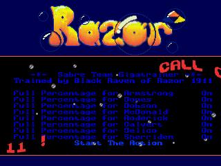 Razor 1911 – Sabre Team
