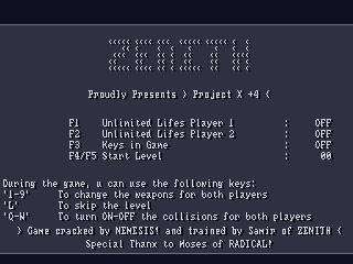 Zenith – Project X
