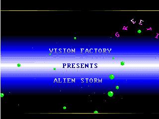 Vision Factory – Alien Storm