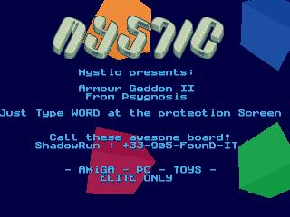 Mystic – Armour Geddon 2