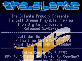 The Silents – Pinball Dreams