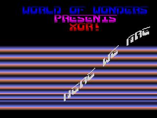 World of Wonders – Xor
