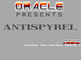 Oracle – Antispyrel
